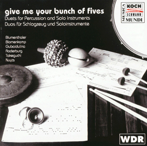 Christian Roderburg - Works For Marimba Sola
